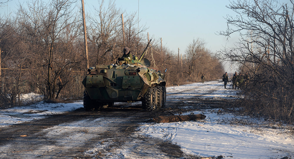 Украинские силовики предприняли попытку прорыва вЛНР