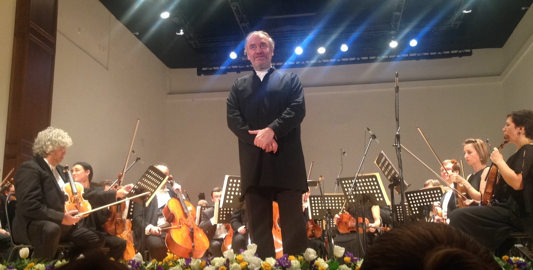 Валерий Гергиев на концерте в госфлармонии Владикавказа