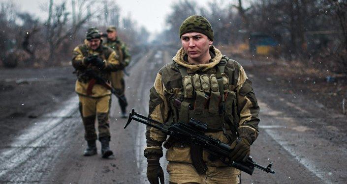 ВСУ попытались прорвать оборону ополченцев— ДНР