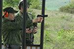 Российские пограничники в Южной Осетии соревновались в меткости