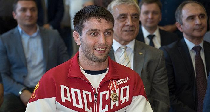 Осетинский борец Сослан Рамонов