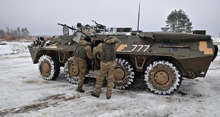 ЛНР: корреспонденты попали под обстрел ВСУ врайоне Дебальцево