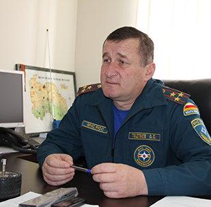 Замглавы МЧС РЮО Алан Тадтаев