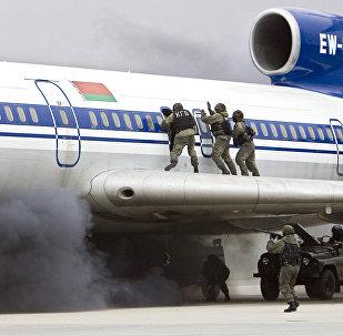 Оперативно-стратегические командно-штабные учения спецслужб стран СНГ Бастион-антитеррор 2008 проходит в Белоруссии