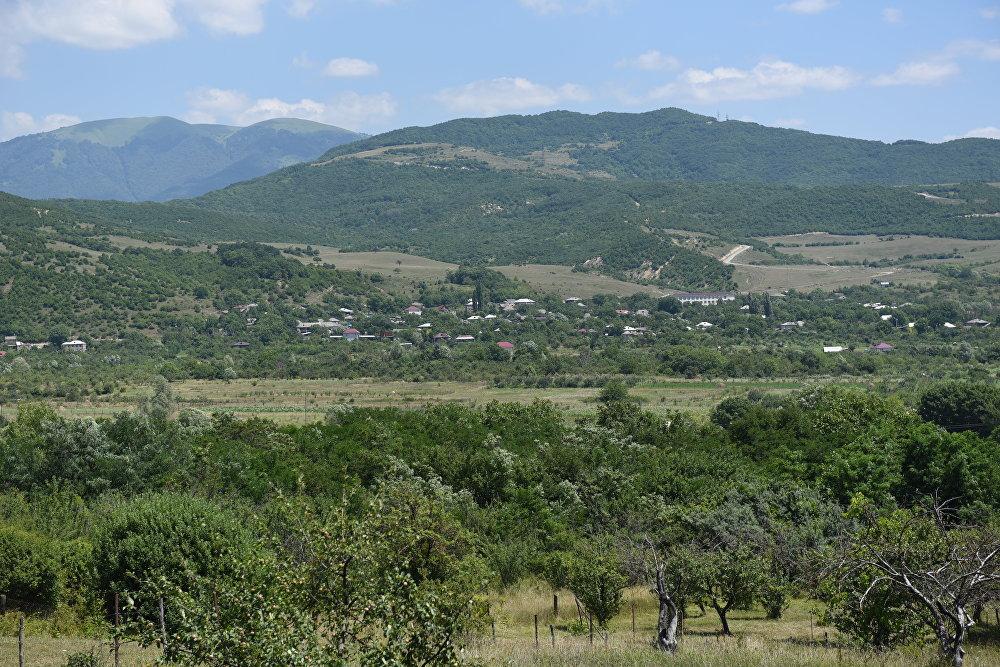 Село Дменис цхинвальского района