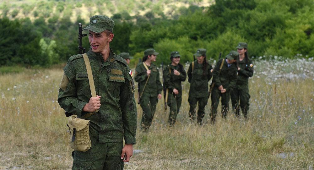 Курсанты, поступившие в военные вузы РФ