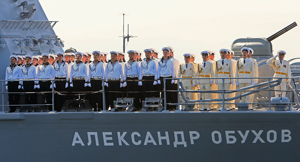 Генеральная репетиция парада ко Дню ВМФ в Балтийске