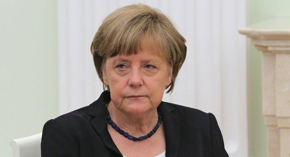 Канцлер Федеративной Республики Германия А.Меркель