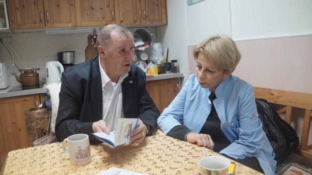 Доктор Лиза и Юрий Потапенко