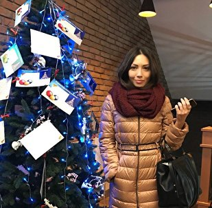 Аида Гагиева, организатор акции Елка доброты