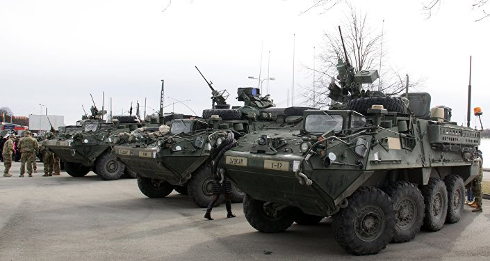 Американские бронетранспортеры Stryker