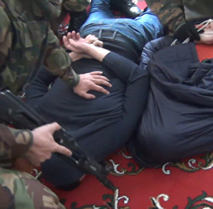 Задержание сторонников ИГ в Дагестане. Оперативные кадры