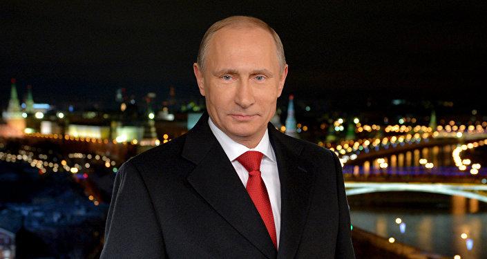 Новогоднее обращение президента РФ В.Путина 2014 года