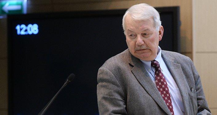 Научный руководитель Института США и Канады РАН Сергей Рогов