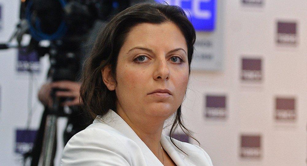 Главный редактор телеканала RT Маргарита Симоньян