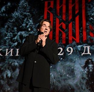 Генеральный директор Первого канала Константин Эрнст на премьере фильма Викинг