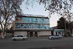 Бывший центральный универсальный магазин города Цхинвал