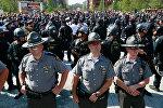 Акция протеста в США против полицейского произвола и расизма