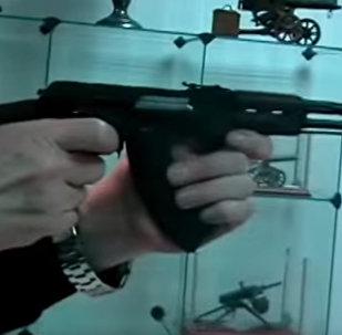 Миниатюрный автомат Калашникова