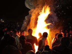 Праздник Крещения Господня в Фиагдоне