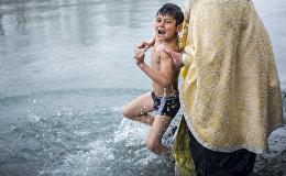Крещение в Цхинвале