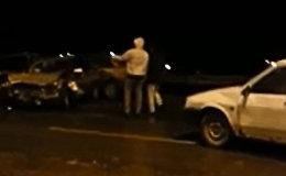 Страшная авария на трассе Махачкала- Кизильюрт