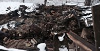 Последствия пожара в Дзауском районе РЮО