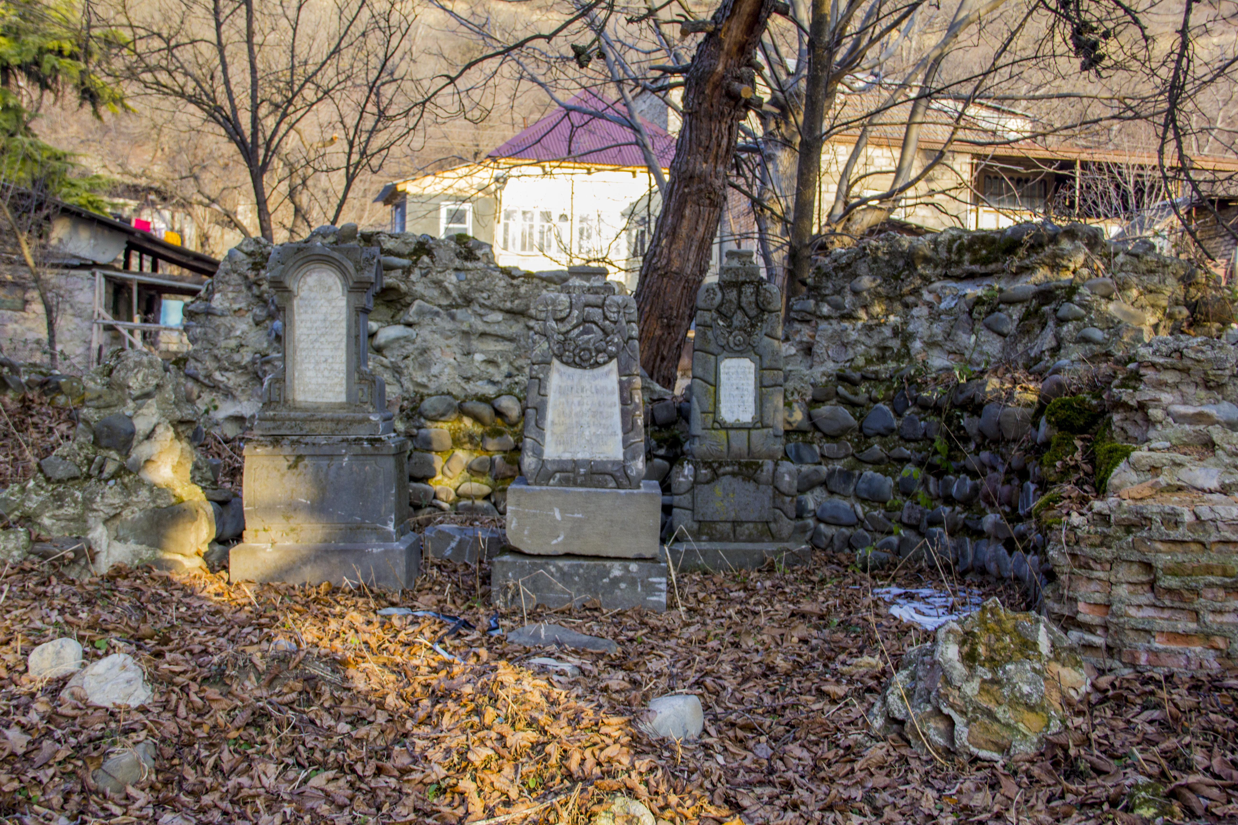 Армянское кладбище в Ленингоре