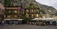 Уличное кафе в Италии