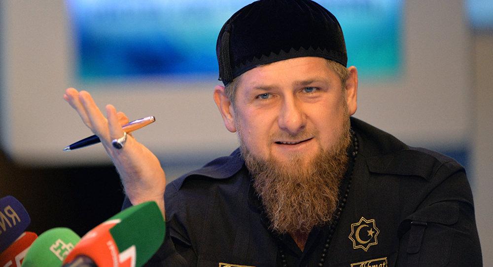 Рамзан Кадыров зарегистрировался вMylistory