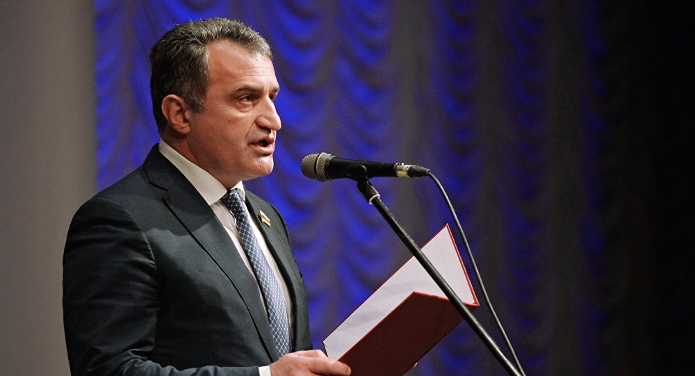 Председатель партии Единая Осетия Анатолий Бибилов