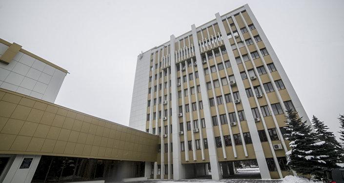 Комплекс зданий, где располагается ЦИК РЮО