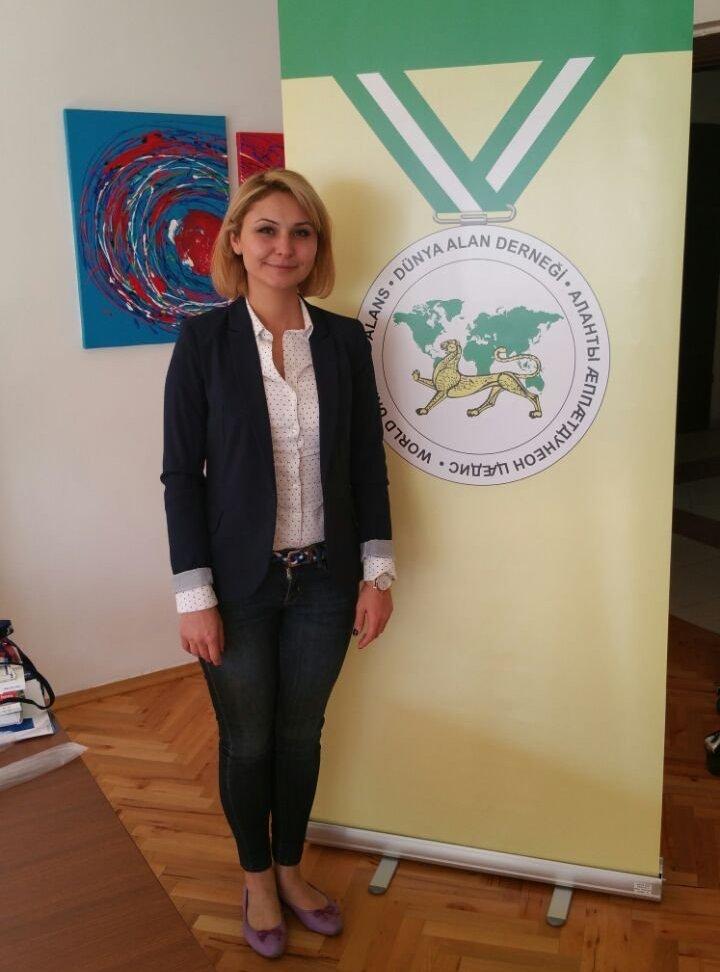 Ирма Мамсыраты, учредитель Международного союза Алан