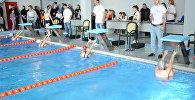Первый турнир по плаванию в Южной Осетии