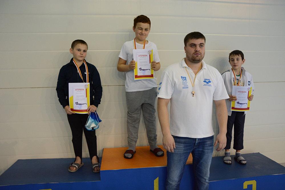 Победителей наградили  медалями и грамотами