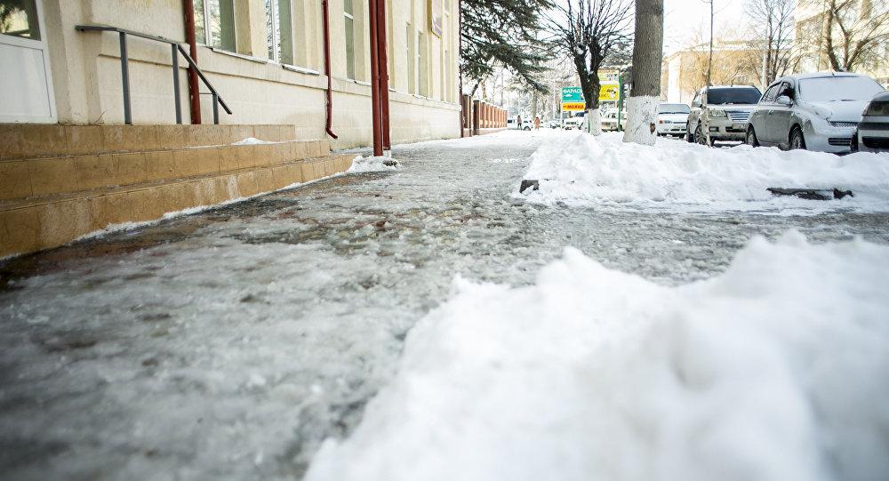 Улица Московская в Цхинвалел