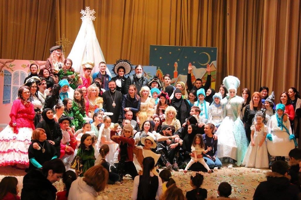 После спектакля Снежная королева