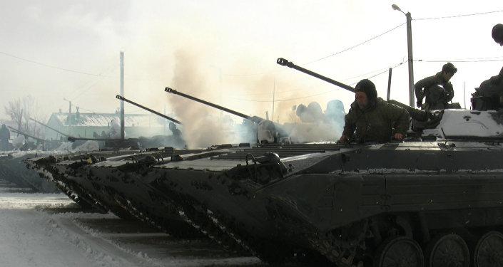 Подразделения российской военной базы в Южной Осетии привели в боеготовность
