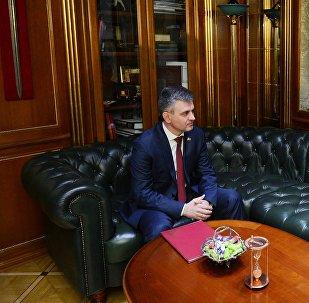 Президент ПМР Вадим Красносельский.