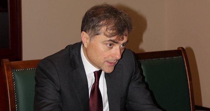 Владислав Сурков в парламенте РЮО