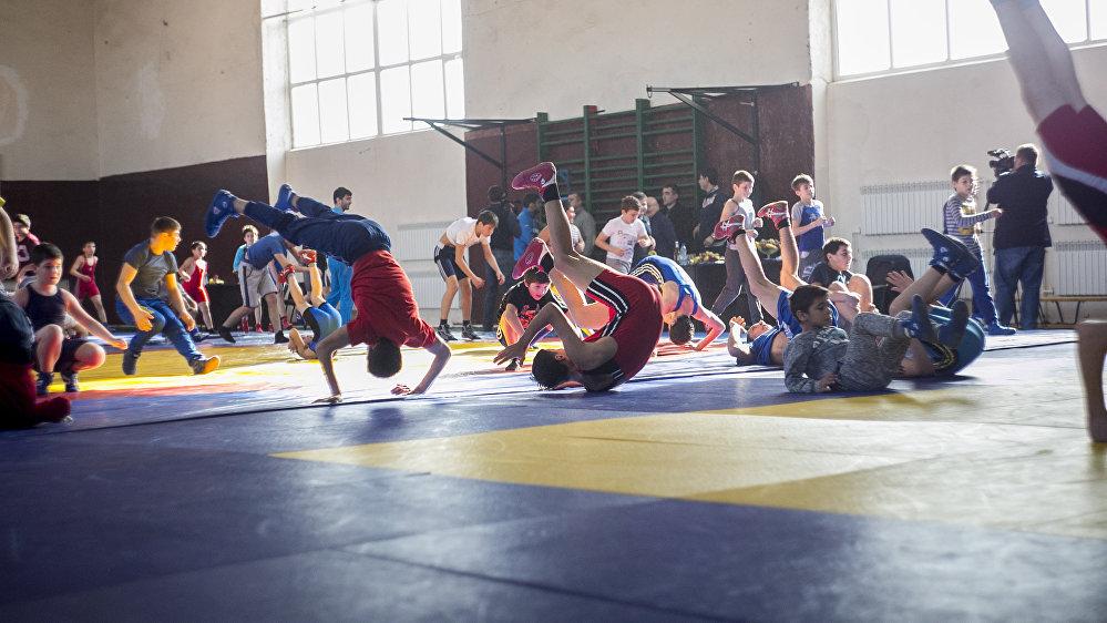 Олимпийский десант в Цхинвале