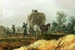 Картина ван Гойена Сенокос