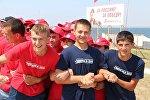 Молодежь Южной Осетии принимает участие в лагере-форуме Крым. Донузлав-2015
