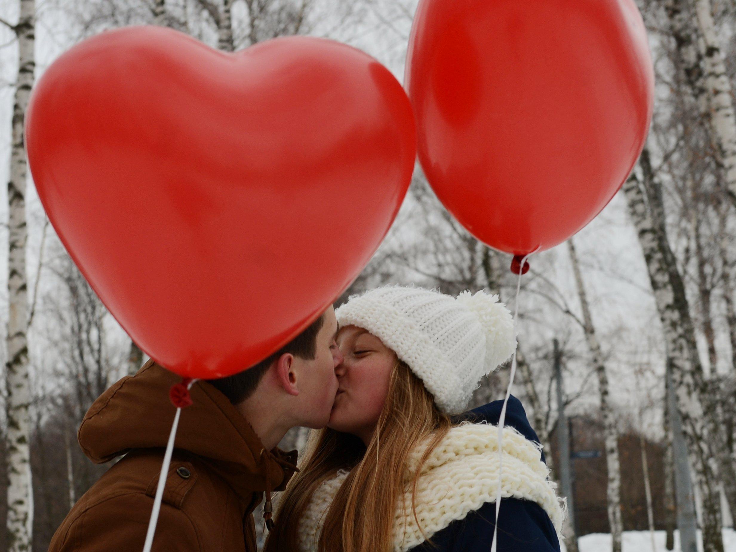 Празднование Дня святого Валентина