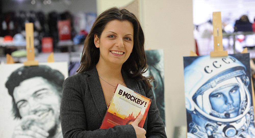 Главный редактор канала Russia Today Маргарита Симоньян
