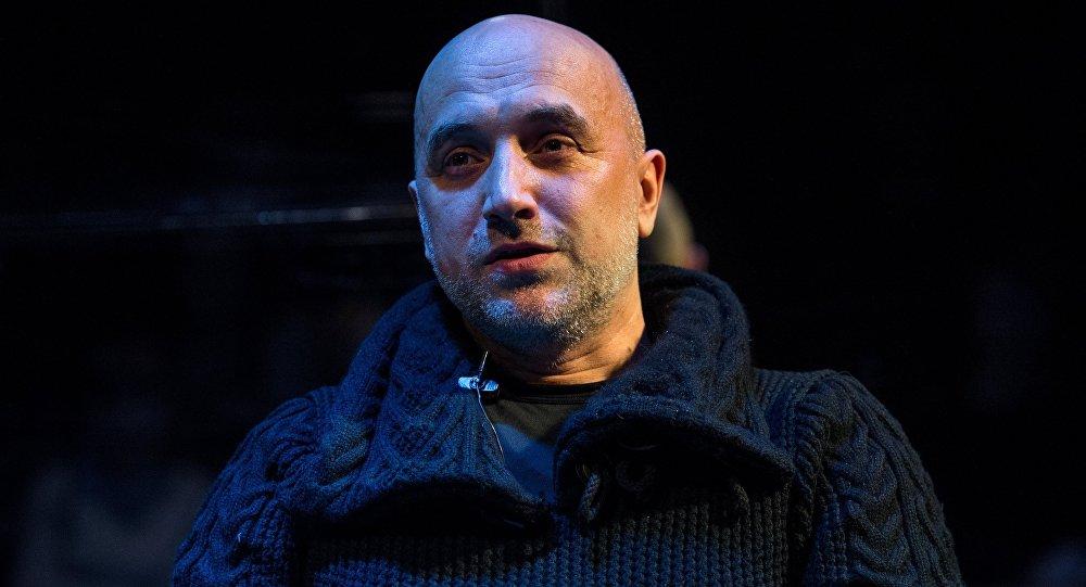 Захар Прилепин стал заместителем командира батальона ДНР