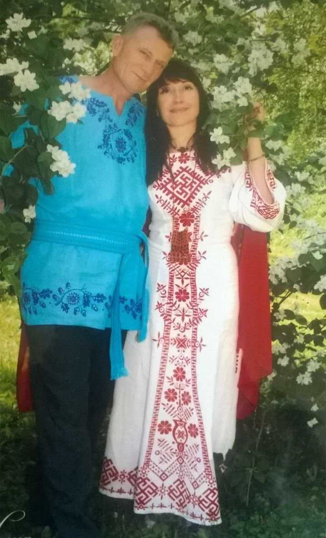 Милена Иванова с мужем