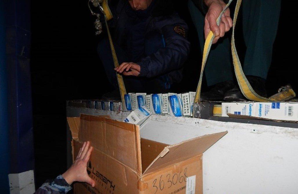 Партия контрабандных сигарет