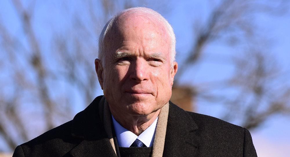 Сенатор США Джон Маккейн, архивное фото.