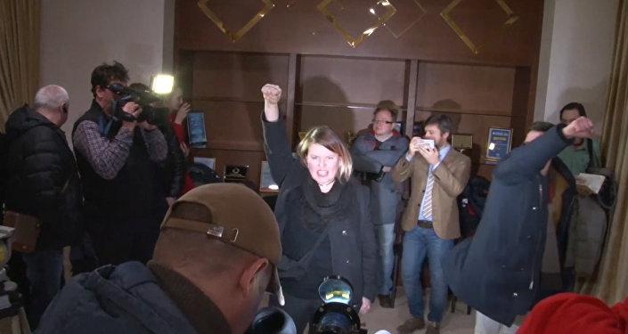 Пресс-конференция ОБСЕ в Минске